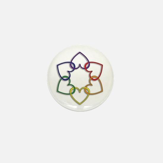 Poly Logo Mini Button