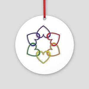 Poly Logo Ornament (Round)