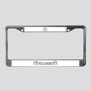 Poly Logo License Plate Frame