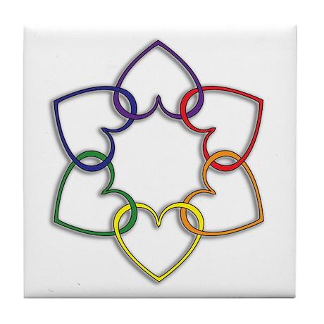 Poly Logo Tile Coaster