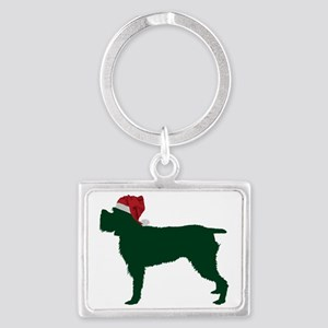 Wirehaired-Pointing-Griffon23 Landscape Keychain