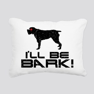 Wirehaired-Pointing-Grif Rectangular Canvas Pillow