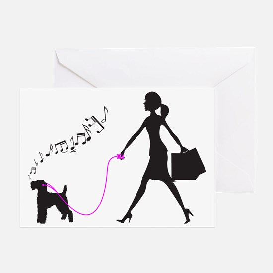 Welsh-Terrier32 Greeting Card
