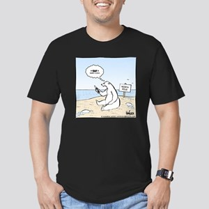 Coke Warming Final Men's Fitted T-Shirt (dark)