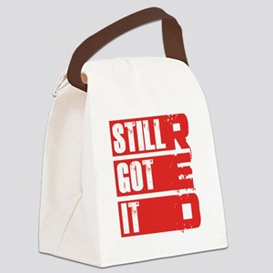 red still got it Canvas Lunch Bag
