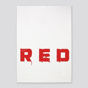 REDbullet2 5'x7'Area Rug