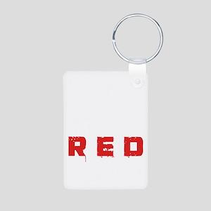 REDbullet2 Aluminum Photo Keychain