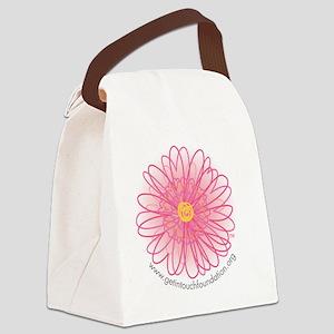 2-girls-daisy Canvas Lunch Bag