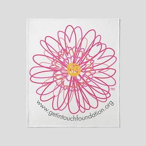 2-girls-daisy-no-bg Throw Blanket