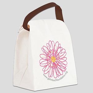 2-girls-daisy-no-bg Canvas Lunch Bag