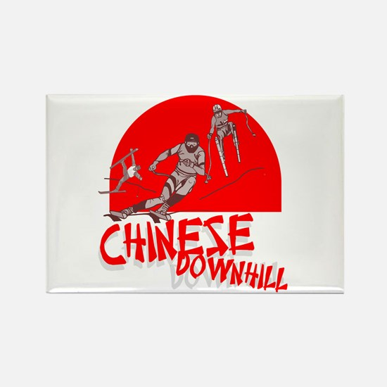 Chinese Downhill Rectangle Magnet