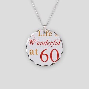 Wonderful60 Necklace Circle Charm