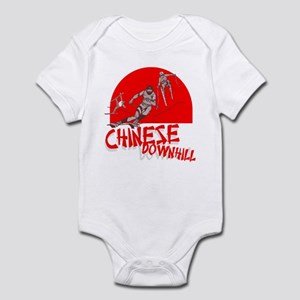 Chinese Downhill Infant Bodysuit