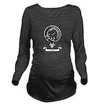 Badge-Little [Dumfri Long Sleeve Maternity T-Shirt