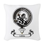 Badge-Little [Dumfries] Woven Throw Pillow