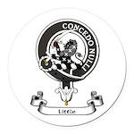 Badge-Little [Dumfries] Round Car Magnet