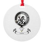 Badge-Little [Dumfries] Round Ornament