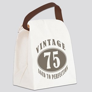 vintageBr75 Canvas Lunch Bag