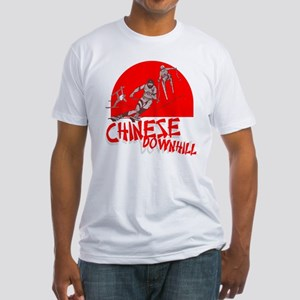 Chinese Downhill Fitted T-Shirt