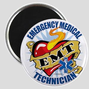 EMT-Classic-Tattoo-Heart Magnet
