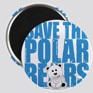 Save-the-Polar-Bears Magnet