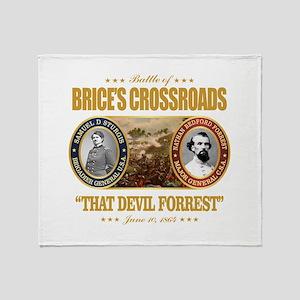Brice's Crossroads Throw Blanket