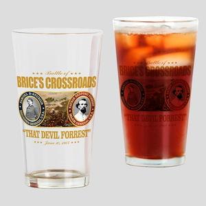 Brice's Crossroads Drinking Glass