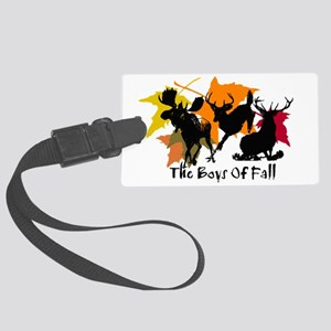 The Boys Of Fall Large Luggage Tag