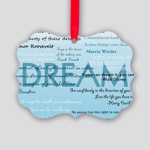 DreamsPostCard Picture Ornament