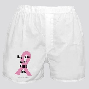 boys-can-wear-pink-too Boxer Shorts