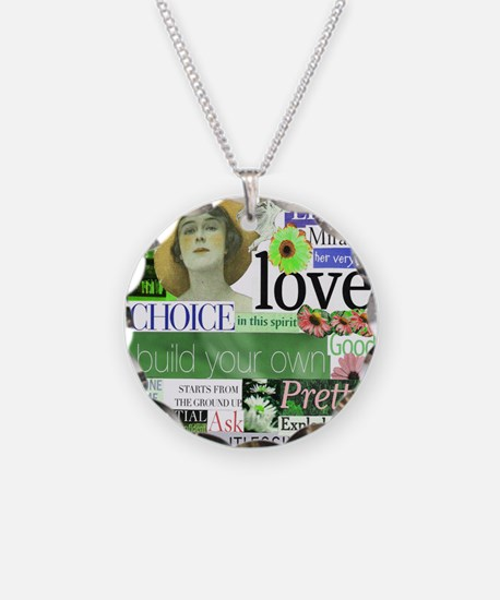 2-choice16x20smposter Necklace