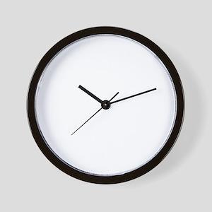 Quips_BrainDamage_dark-crop Wall Clock