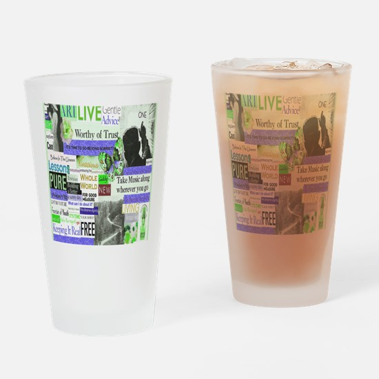 recovery16x20 Drinking Glass