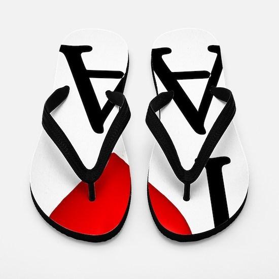 i-love-aa Flip Flops