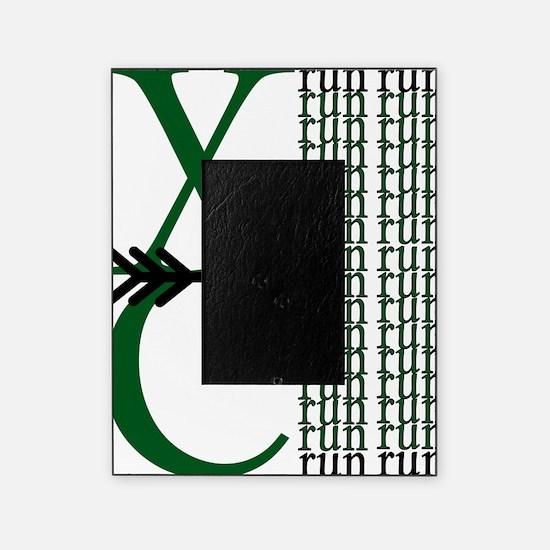 XC Run Green Black Picture Frame
