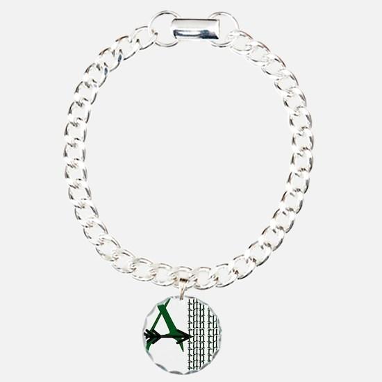 XC Run Green Black Bracelet