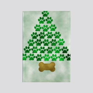 paws_christmas_572 Rectangle Magnet