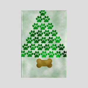 paws_christmas_572 Rectangle Magnet