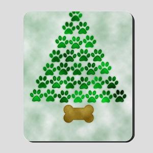 paws_christmas_572 Mousepad