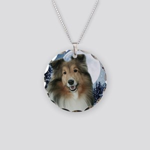 Gracie2010Orn Necklace Circle Charm