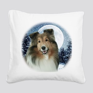 Gracie2010Orn Square Canvas Pillow