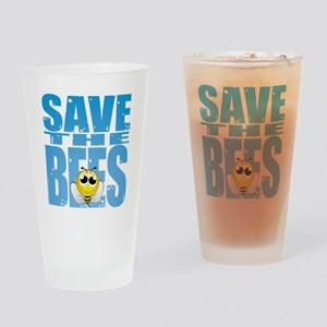Save-the-Bees Drinking Glass
