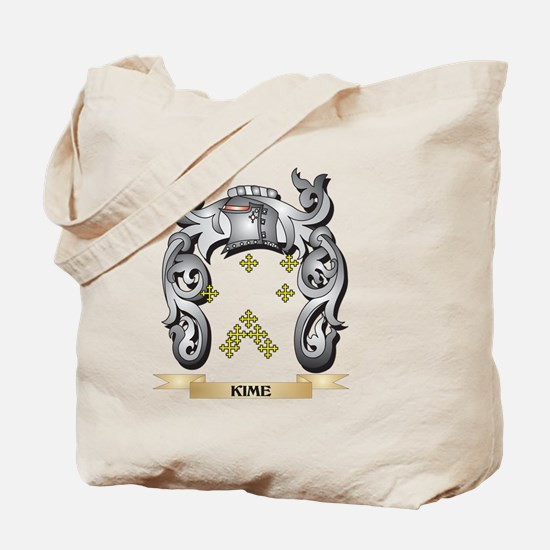 Kime Coat of Arms - Family Crest Tote Bag