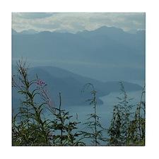 Cypress Mountain View Tile Coaster