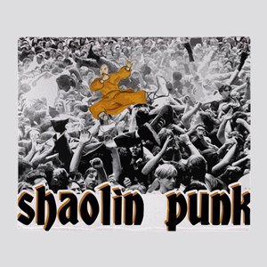 shaolin punk 2 Throw Blanket