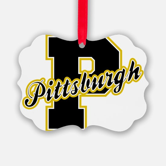 Pittsburgh Letter Ornament