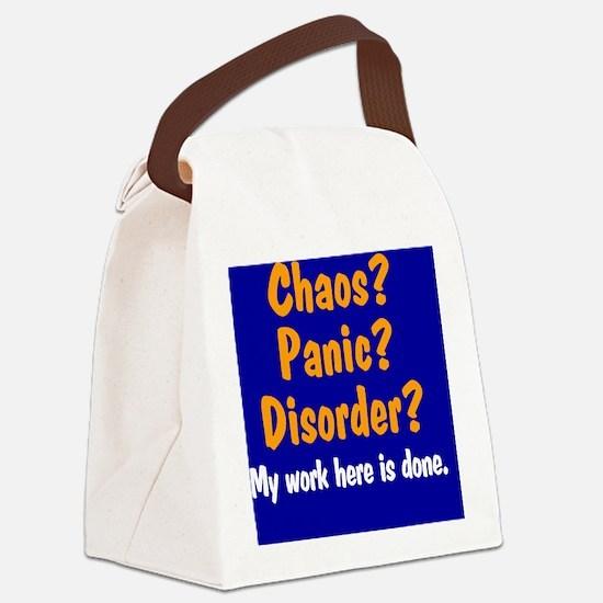 chaos-panic-disorder_rnd Canvas Lunch Bag