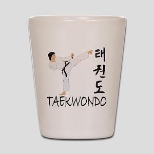 taekwondo a Shot Glass