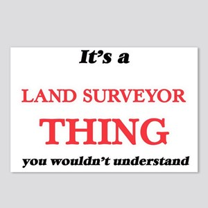 It's and Land Surveyo Postcards (Package of 8)