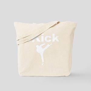 ikick a(blk) Tote Bag
